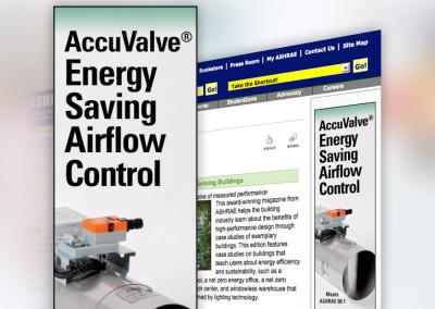 Accutrol Internet Ad Design