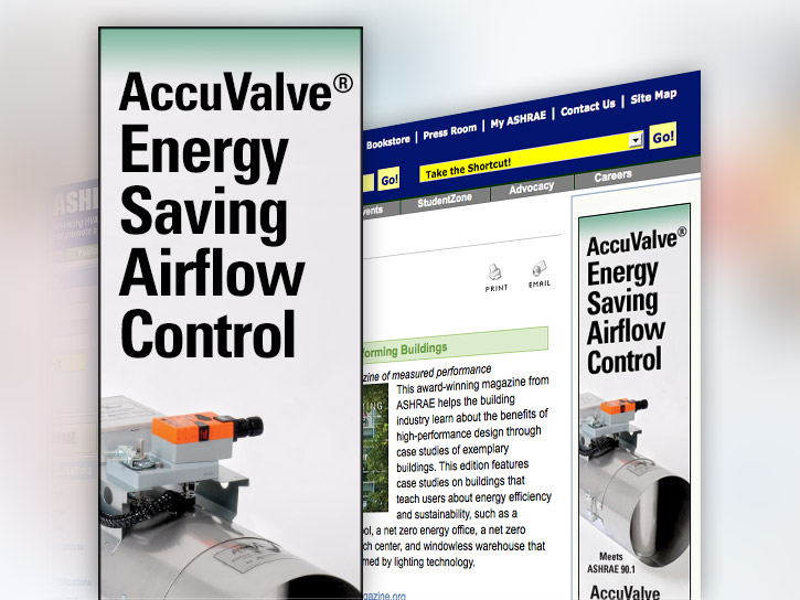 Accutrol Internet Ad Design