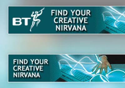 British Telecom Internet Ads