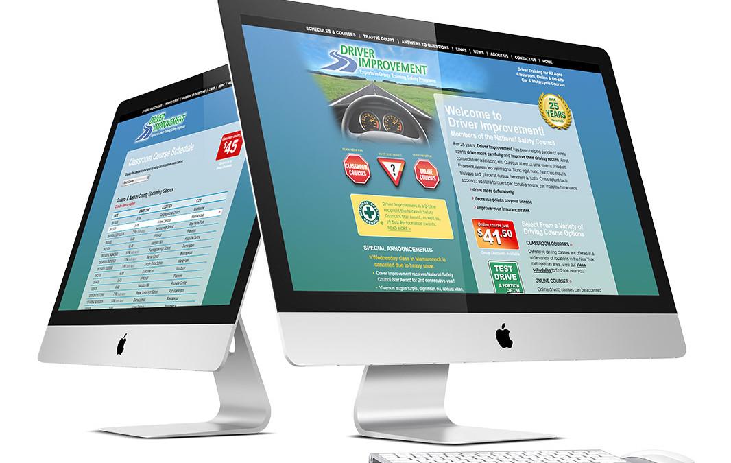 Driver Education Class eCommerce Website