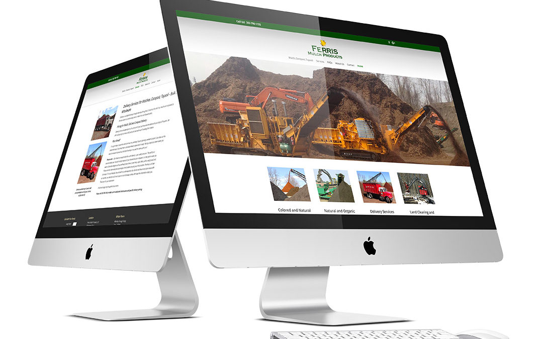 Mulch Business Website Development