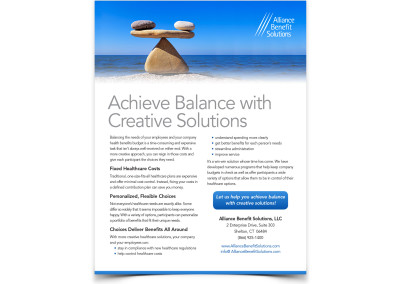 Insurance Services Flyers