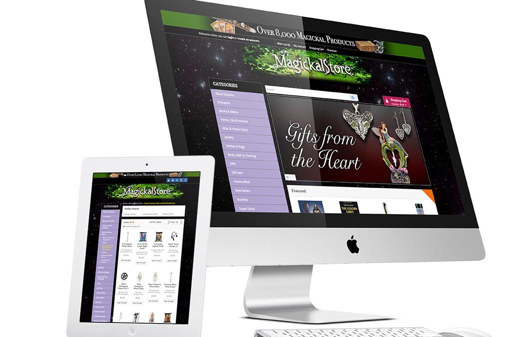 Metaphysical eCommerce Website