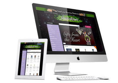 Metaphysical eCommerce Website