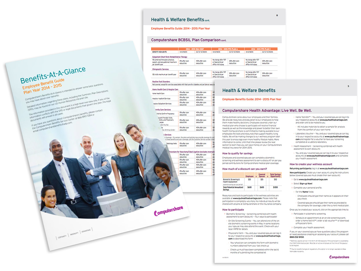 Employee Health Plan Materials