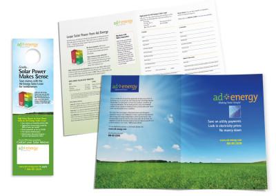 Sales Brochure & Leave Behind