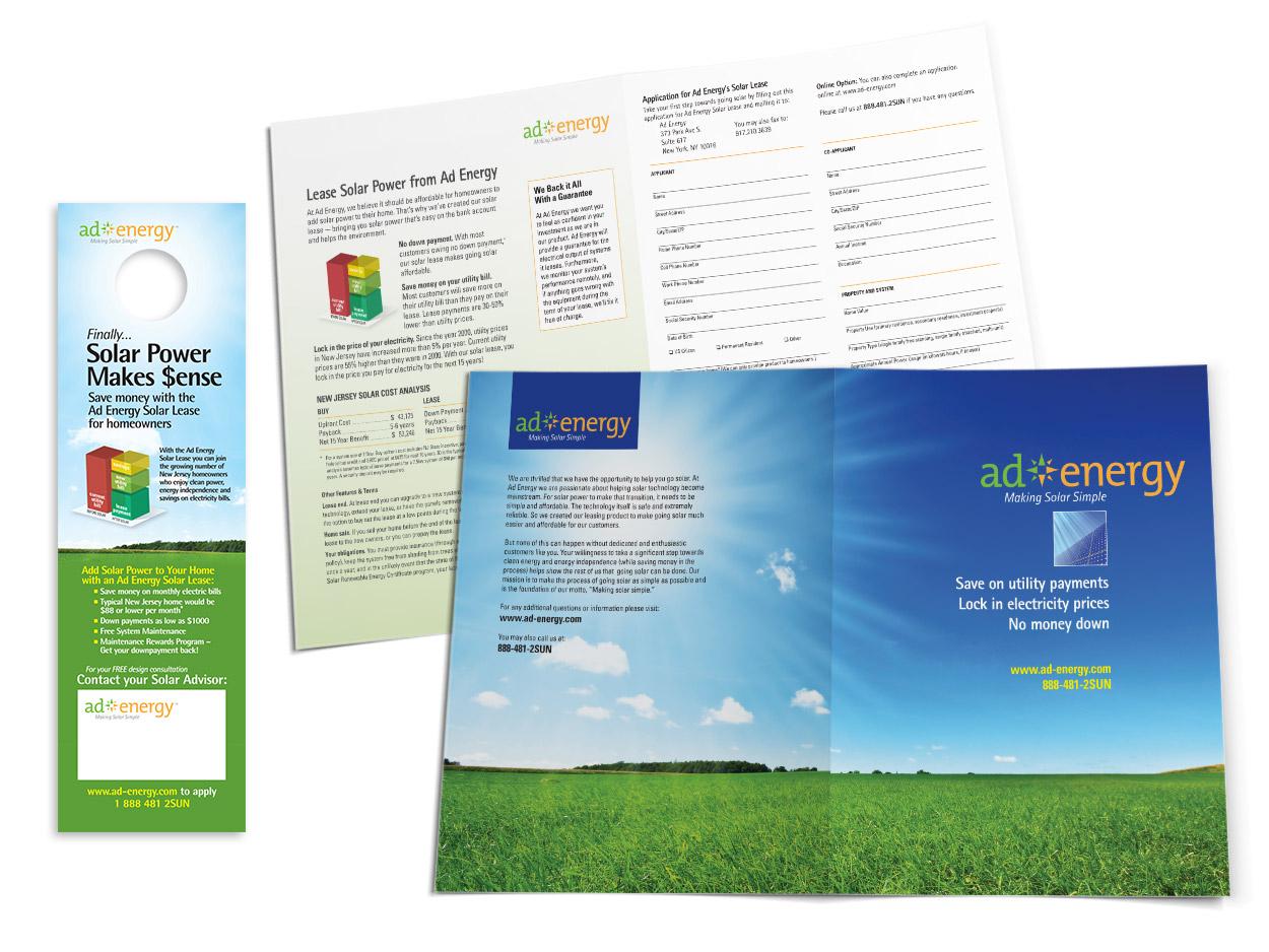 Sales Materials Design – Sales Brochure