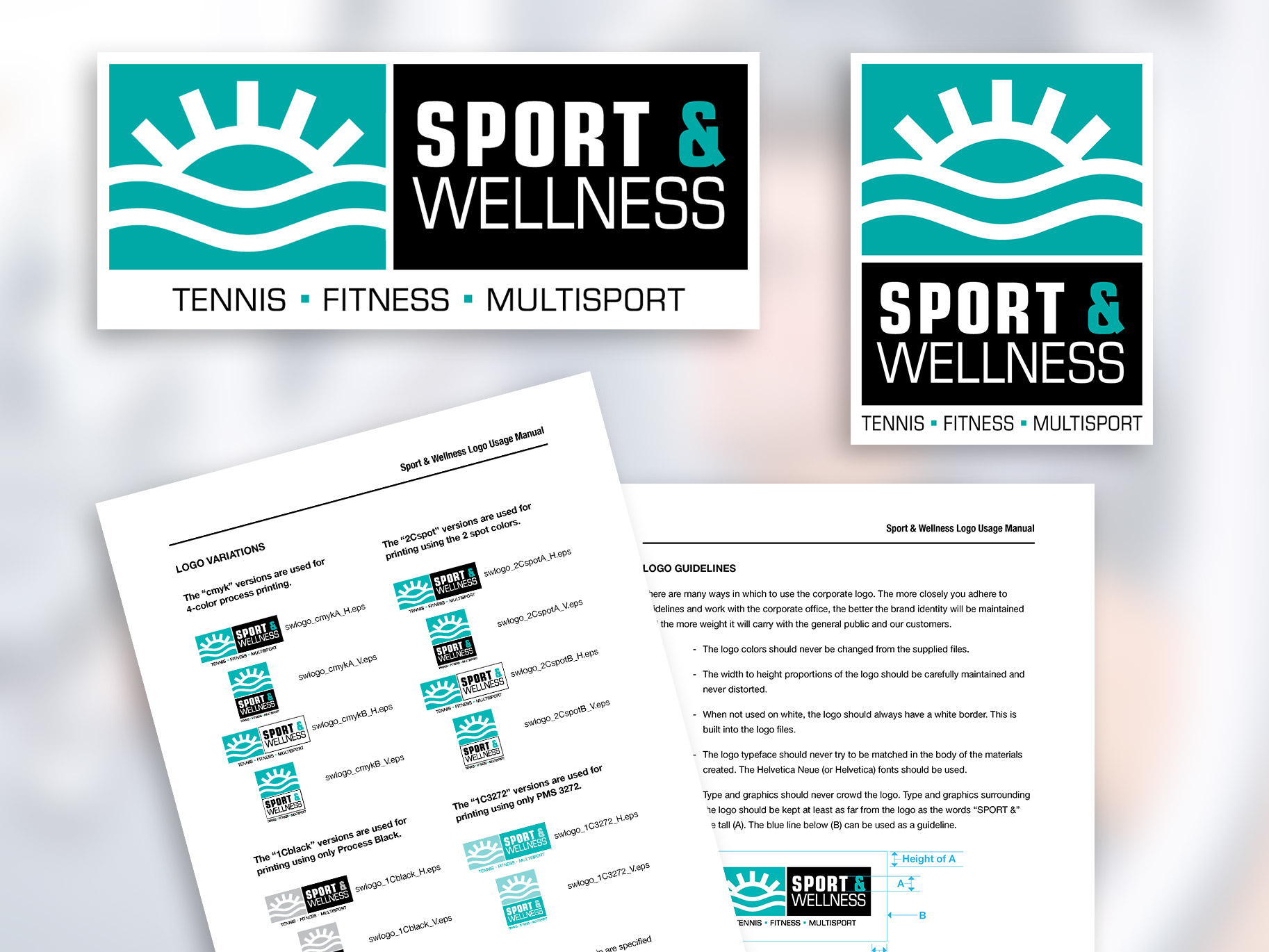 Sports Facility Logo and Identity Guide