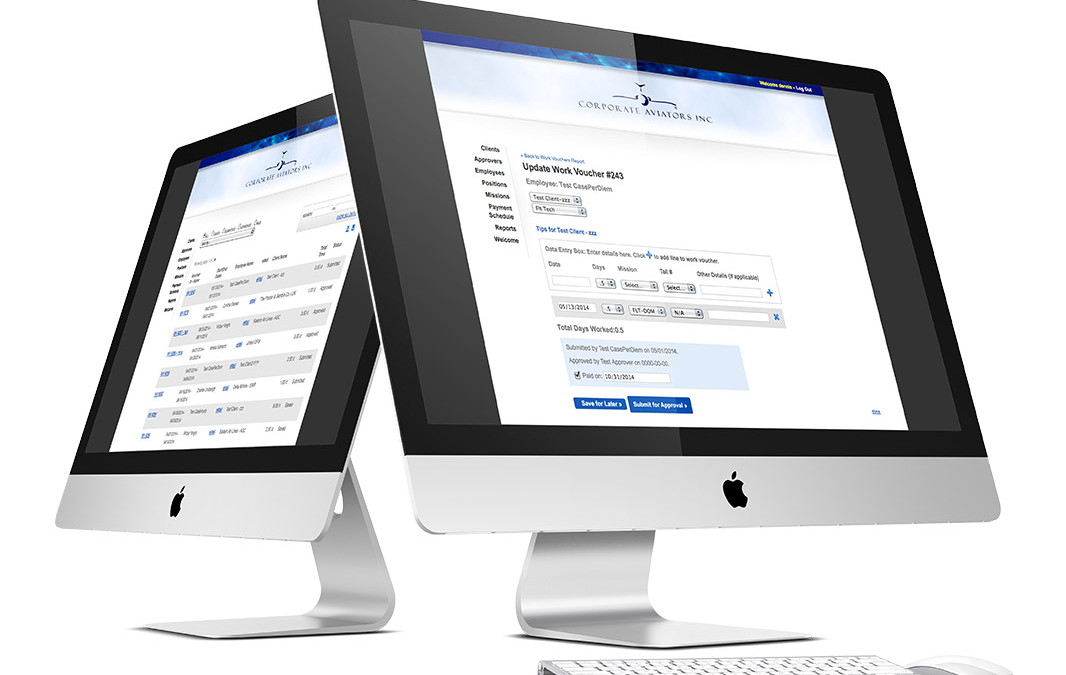 Time & Expense Tracking Online Application