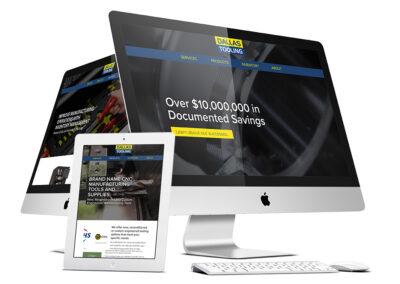 Dallas Tooling Website Design